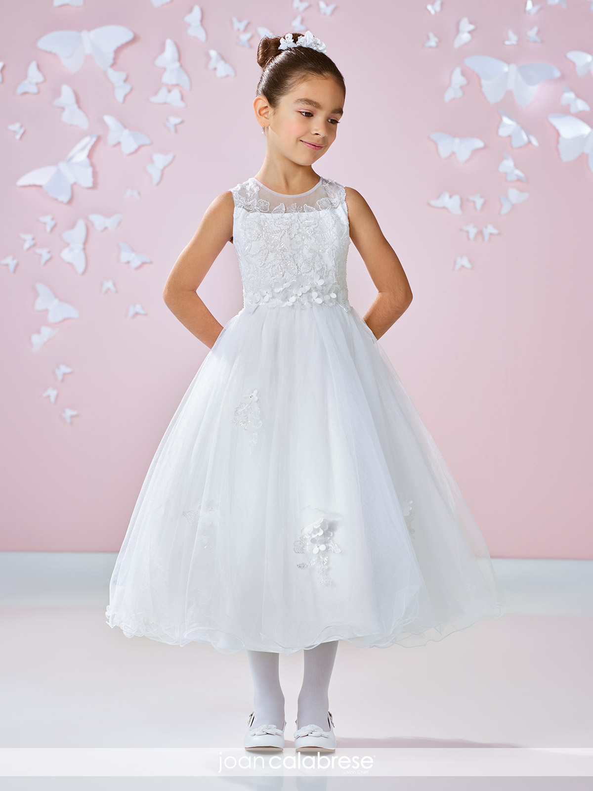 eb208130a7f Joan Calabrese 117333 Flower Girl Dress
