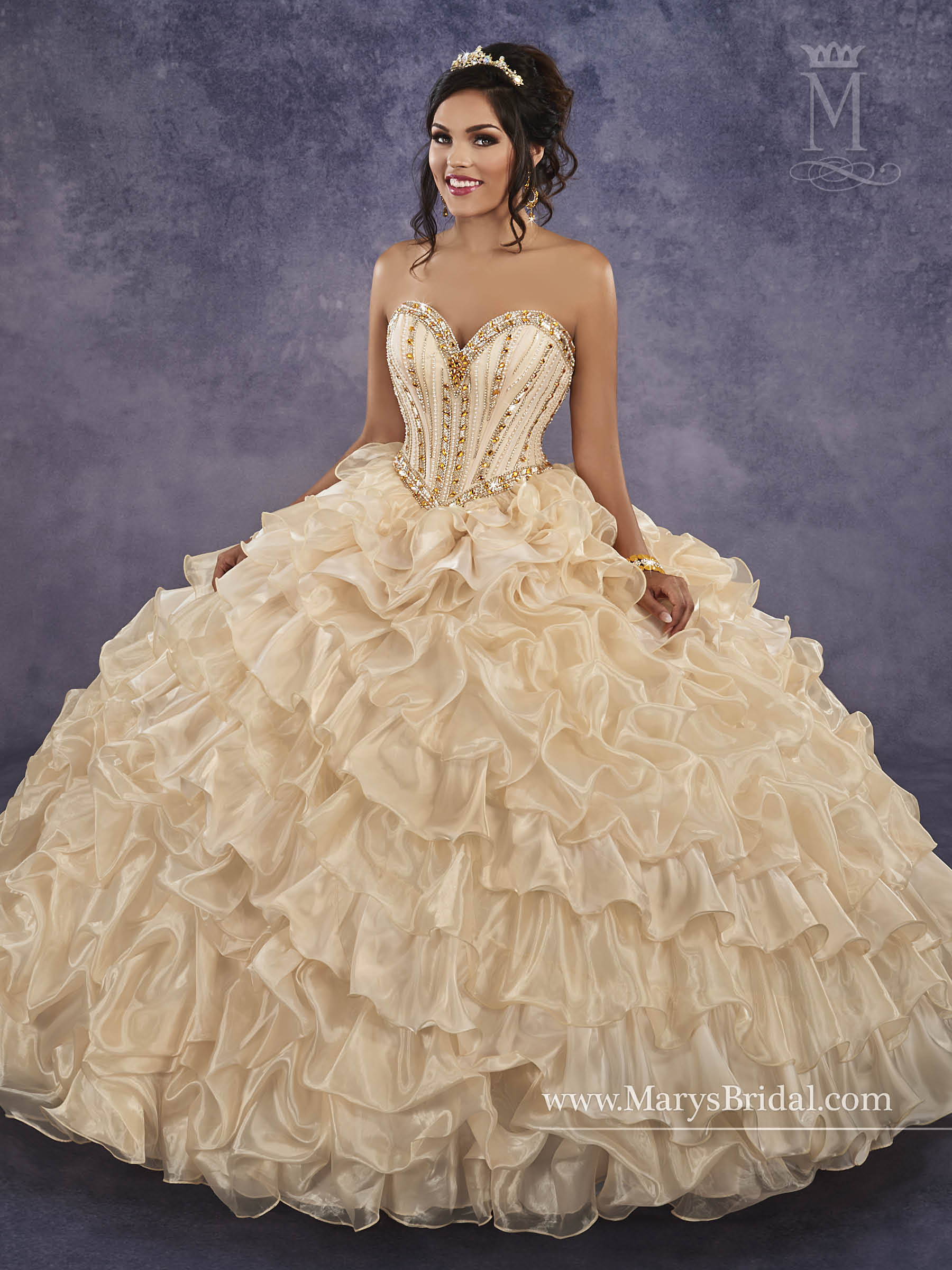 90cccfb99fa Marys Bridal 4Q499 Quinceanera Dress