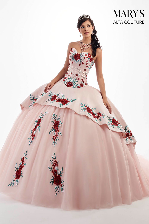 101246defbc Marys Bridal MQ3024 Strapless Sweetheart Neck Quinceanera Dress Dress -  MadameBridal.com